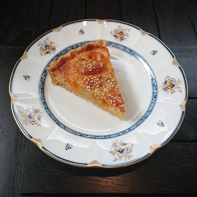 本日も金柑のタルトといよかんのシフォンケーキ、スコーンが焼き上がりました。#カフェオランジュ #季節のタルト #金柑のタルト #いよかんのシフォンケーキ #スコーン #山本有三記念館隣 #三鷹カフェ #吉祥寺カフェ