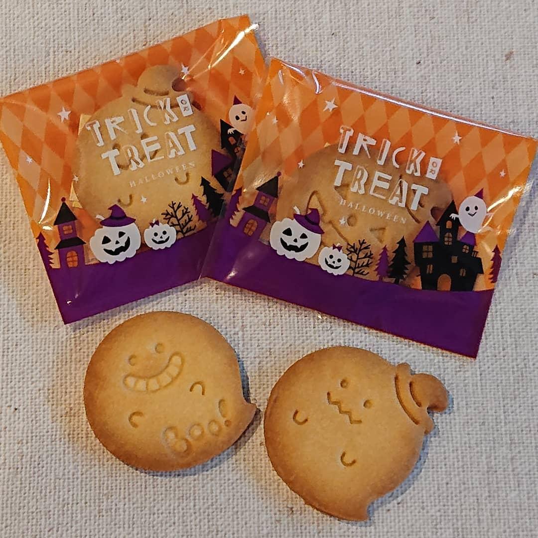 ハロウィンのクッキーです。お土産にどうぞ!#カフェオランジュ #ハロウィンクッキー #山本有三記念館隣 #三鷹カフェ #吉祥寺カフェ